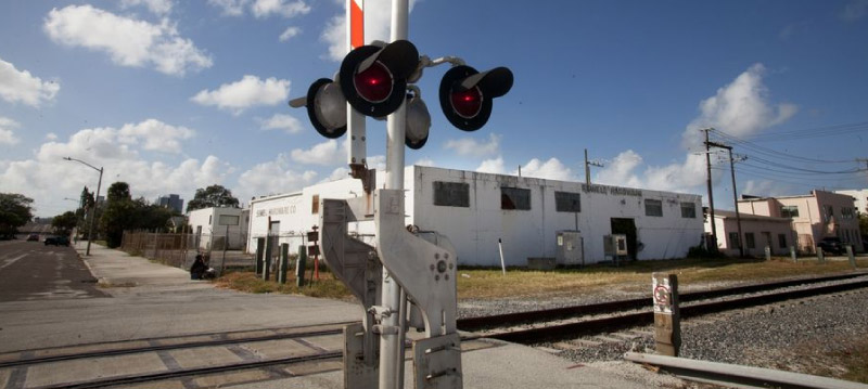 south florida railroad crossing