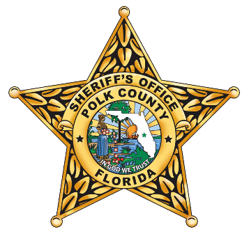 Polk County Florida Police Badge