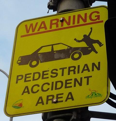 Car Vs Pedestrian Accident