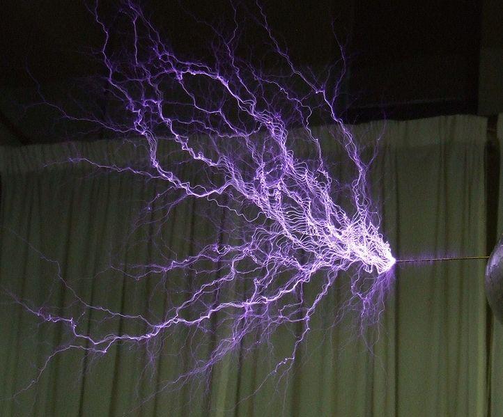 tesla coil lightning
